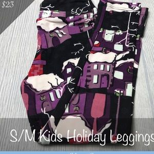 NWT Lularoe S/M Christmas Leggings